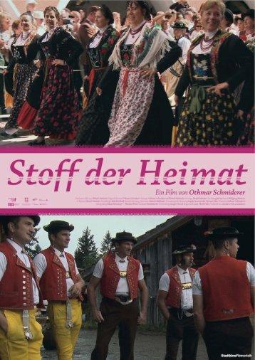 Pressemappe (pdf, 367 MB) - Stoff der Heimat – Ein Film von ...