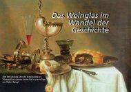 Das Weinglas im Wandel der Geschichte Das Weinglas im Wandel ...
