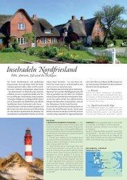 Inselradeln Nordfriesland - Die Landpartie Radeln und Reisen GmbH