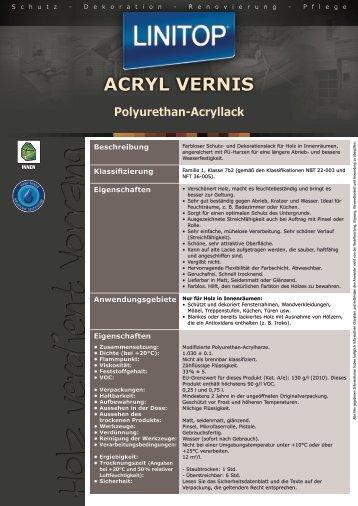ACRYL VERNIS - LINITOP