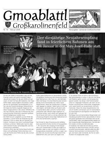 Gmoablattl Großkarolinenfeld - merkMal Verlag