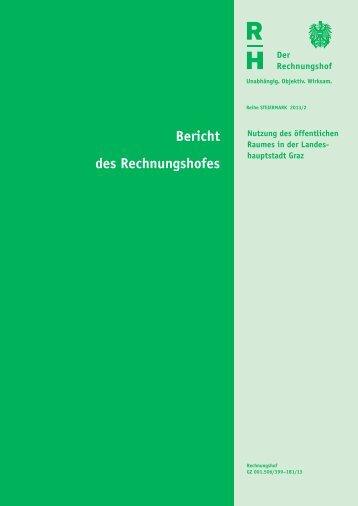 Steiermark 2013/2 - Der Rechnungshof