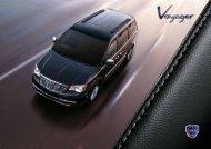 Katalog - Der neue Lancia Voyager