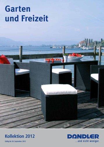 Garten und Freizeit Kollektion 2012