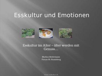 Esskultur und Emotionen
