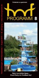 HP 08/2013 - Hof Programm