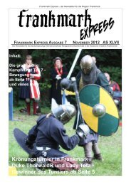 Frankmark Express Ausgabe 7, November 2012 - Vielburgen