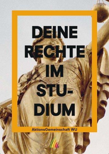 Rechte im Studium - AktionsGemeinschaft WU