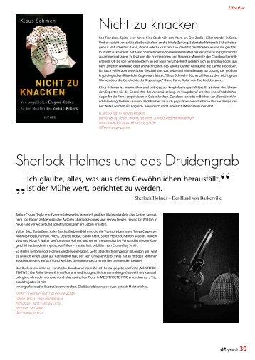 Shortstory-Veröffentlichung in der GE:spräch - 2012 - Tanja Bern