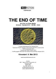 THE END OF TIME - Real Fiction