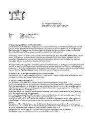 Protokoll HV - Gemeinde Schwellbrunn