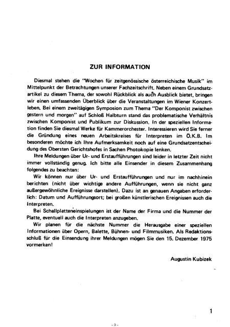 | DER KOMPONIST - Adolf Scherbaum