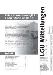 Mitteilung Nr. 53 vom Dezember 2001 - Liechtensteinische ...