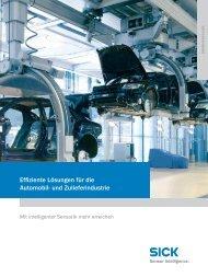 Effiziente Lösungen für die Automobil- und Zulieferindustrie