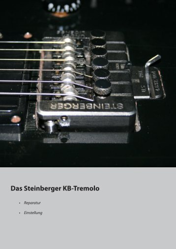 Das Steinberger KB-Tremolo