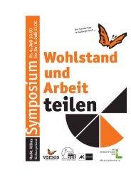 Tagungsband (pdf) - SOL - Menschen für Solidarität, Ökologie und ...