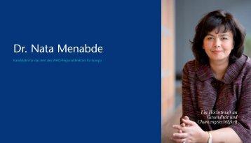 Dr. Nata Menabde