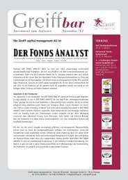 Greiffbar 2012-11 - Greiff Capital Management AG