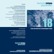 18 Fragen und Antworten zu tumorbedingter Fatigue. - Cinema for Life