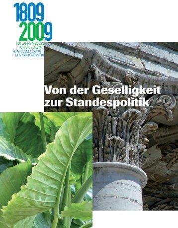 Redaktion Urs Boschung - Ärztegesellschaft des Kantons Bern