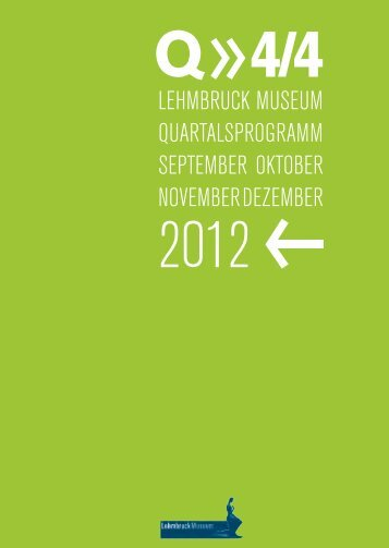 Quartalsprogramm 4/4 2012 - Kindererlebnisse.de