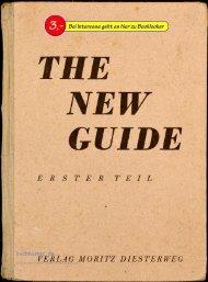 Duve-Kreter The New Guide, 1. Teil