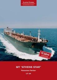 """MT """"ATHENS STAR"""" - Lloyd Fonds AG"""