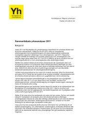 Yrkesanalyser ansökningsomgång 2011 - Myndigheten för ...