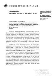 Pressemitteilung - Franckesche Stiftungen