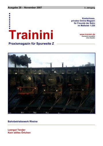 Das Bahnbetriebswerk Rheine - Matijsse Downloads Trainini und ...