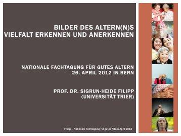 Aktivierung des Altersstereotyps sollten bei alten Menschen ...