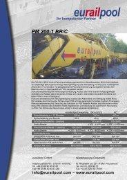 PM 200-1 BR/C.indd - Eurailpool GmbH