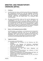 Breiten- und Freizeitsportordnung - Deutscher Volleyball-Verband