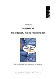 Mein Bauch, meine Frau und ich - Rowohlt Theaterverlag