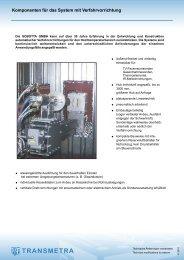 Verfahr- vorrichtungen - Transmetra