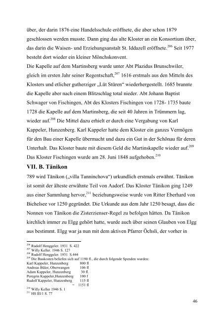 Thurgauer Reformation - Winterthurer Fortbildungskurs