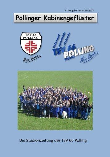 Ausgabe 6/2012 - TSV 66 Polling