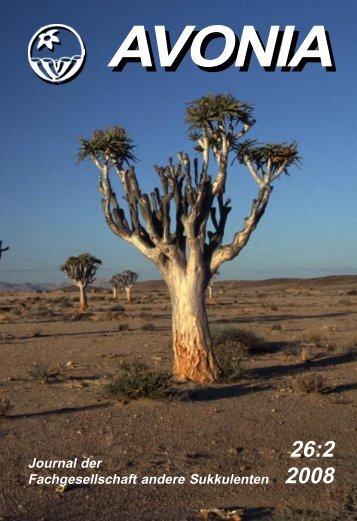 Aloe dichotoma - Köcherbaum - IG-Aloaceae