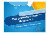 Das perfekte soziale Netzwerk ! - Deutschland sicher im Netz