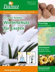 Der große Ratgeber: Winterschutz für Exoten - Palmeo