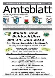 Musik- und Schlachtest am 14 - Gemeinde Mauer