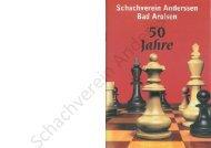 50 Jahre SV Anderssen Arolsen 1953-2003 - Schachverein ...