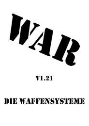 Das Kompendium der Waffensysteme v1.21 - Chronator