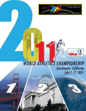WORLD ATHLETICS CHAMPIONSHIP - Masters Track and Field