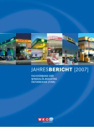 JAHRESBERICHT [2007] - Wirtschaftskammer Österreich