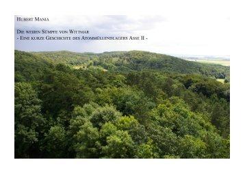 DIE WEIßEN SÜMPFE VON WITTMAR - Asse II