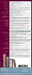 Veranstaltungsprogramm Gutenberg-Museum - Mainz-Neustadt.de - Seite 2