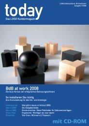 today - Das LOGO Kundenmagazin - Ausgabe 7/2008 - Betreuung.de