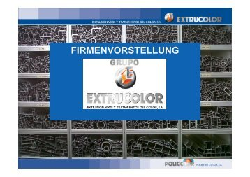 FIRMENVORSTELLUNG - Extrucolor