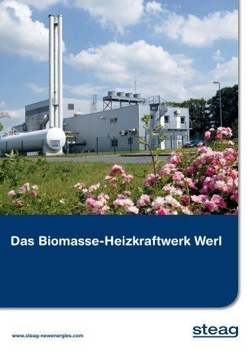 Das Biomasse-Heizkraftwerk Werl - STEAG